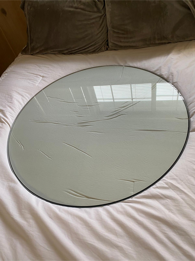 """Photo Round 36"""" glass table top 1/4"""" thick"""