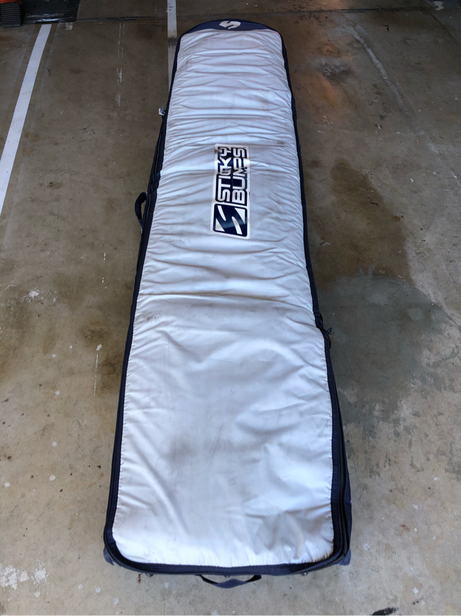 Photo Longboard Surfboard Bag - 9'0 fits up to 9'3 - 2-3 Boards with Wheels