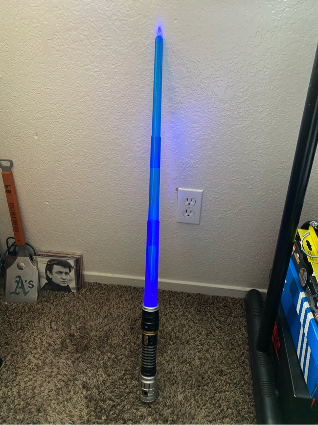 Photo Kids Star Wars Plastic Light Up & Sound effect Lightsaber