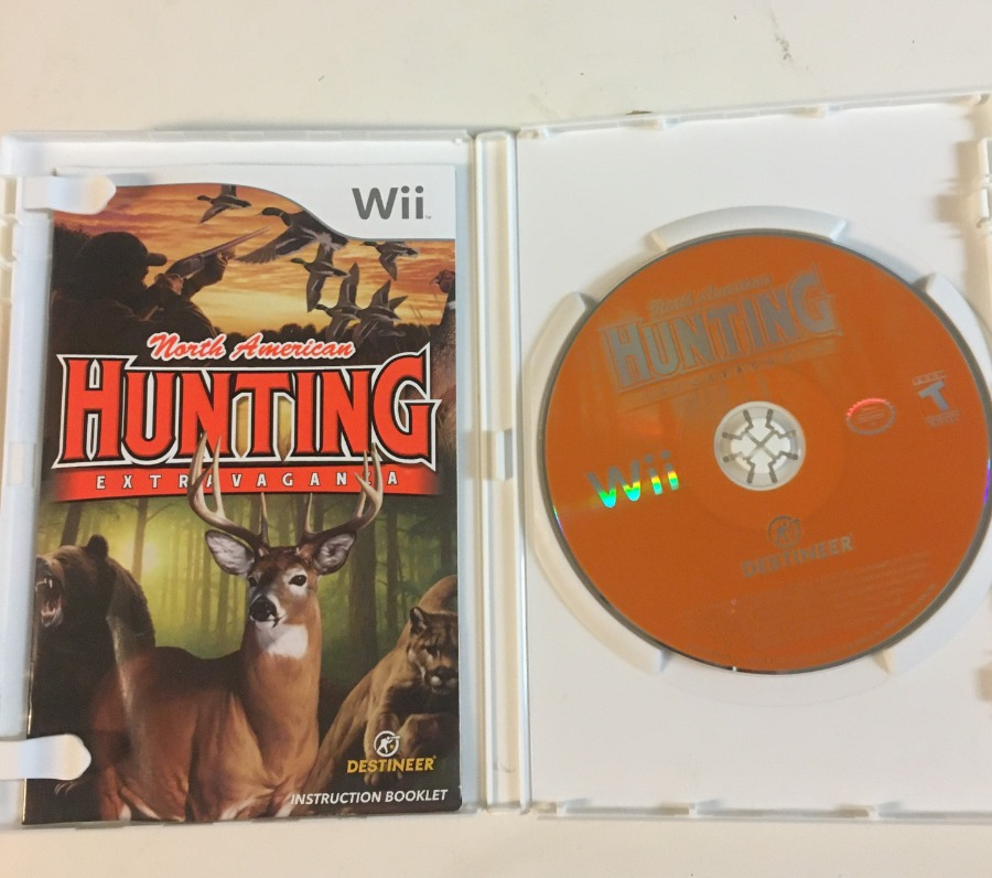 Photo North American Hunting Extravaganza Nintendo Wii Video Game