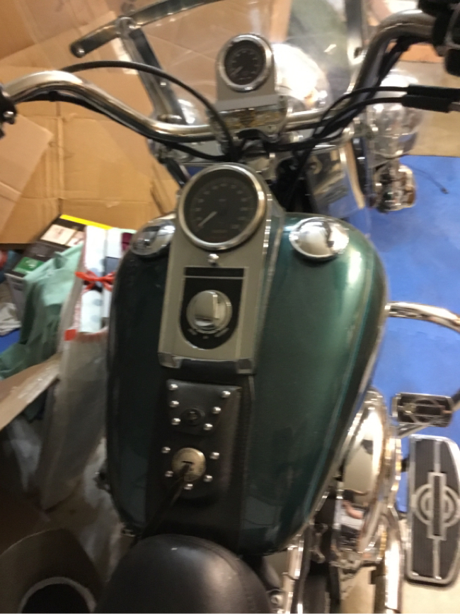 Photo 2002 Heritage Classic Harley Davidson