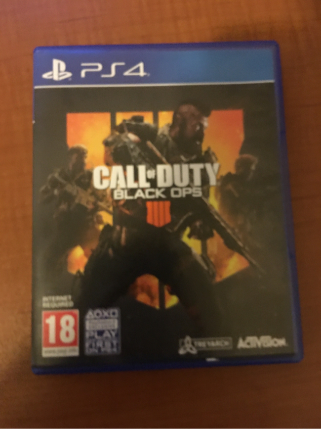 Photo Call Of duty Black Ops 4 Ps4