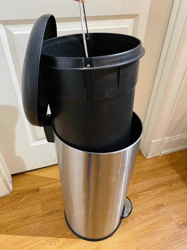 Photo Aluminum Trash Can - 13 gallon