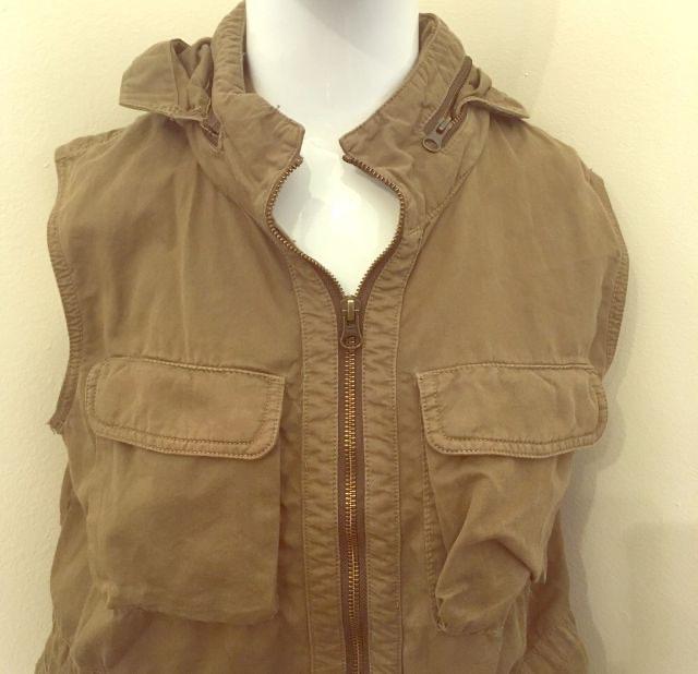 Photo J. Crew Hooded Vest