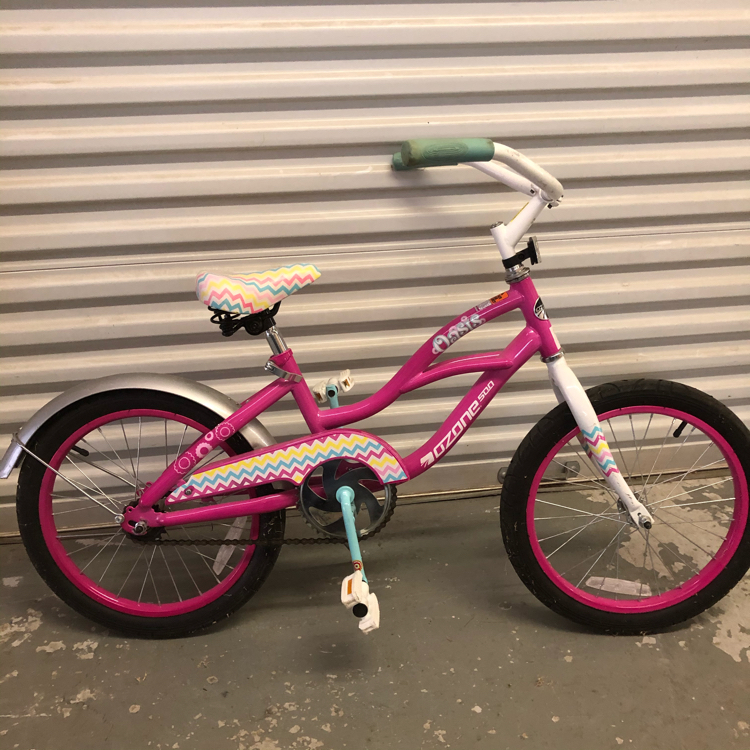 "Photo Girls 18"" Ozone 500 Oasis bicycle, 5 photos"