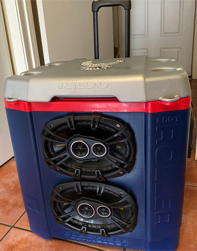 Photo Ice Chest Stereo