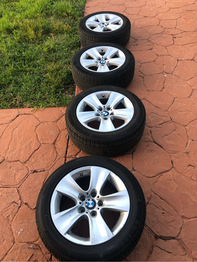 Photo 17 inch Bmw rims and tires wheels