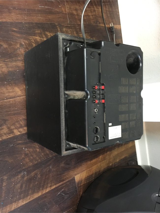 Photo Sony sa-w2500 subwoofer