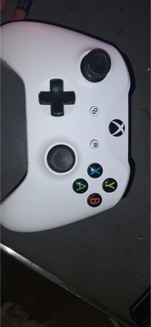 Photo #xbox I am selling a Xbox one s with a wireless controller, 4 game's *you can see in the picture* and the cords will all come with it