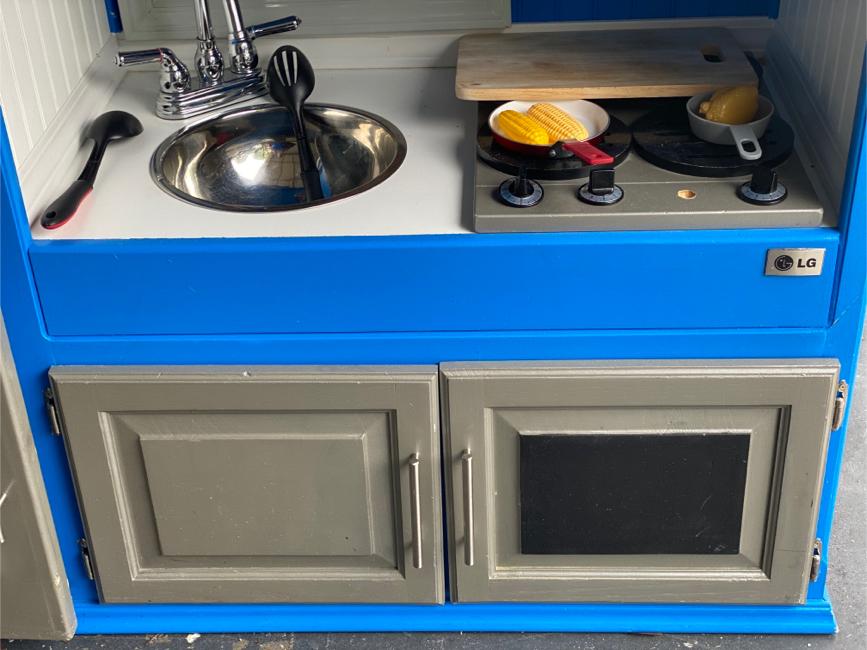 Photo Play kitchen