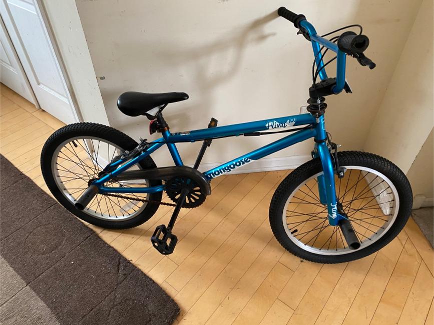"Photo Mongoose Fling 100 Freestyle BMX Bike, 20""- Teal"