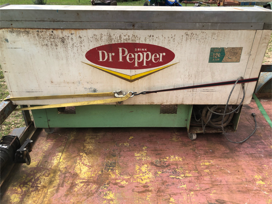 Photo 50s Dr Pepper cooler