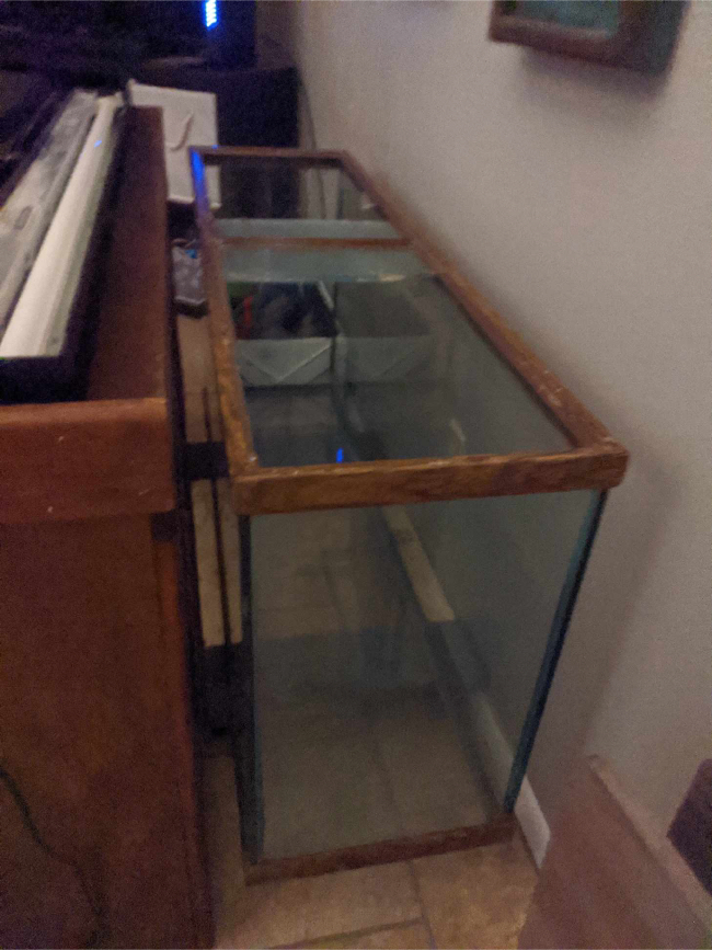 Photo 55 gallon tank with stand