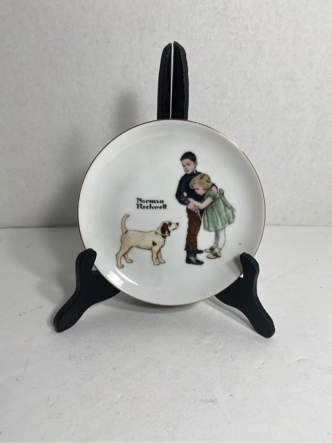 Photo Vintage Norman Rockwell Collectors Edition Limited Series Big Brother plate