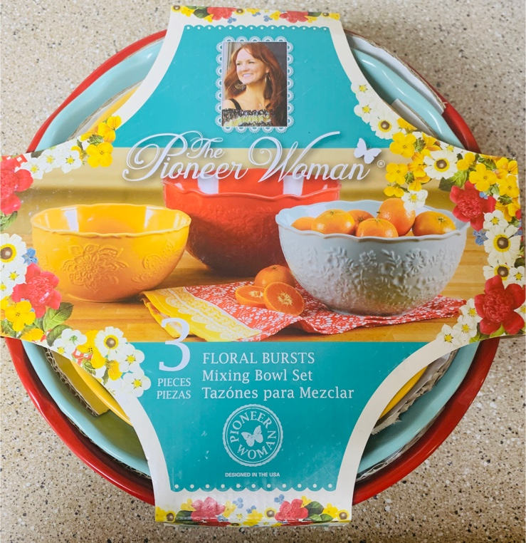 Photo Pioneer Woman Mixing Bowl Set