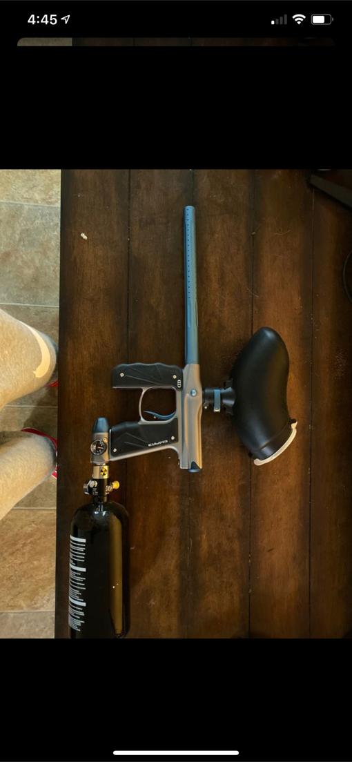 Photo Empire mini gs paintball gun