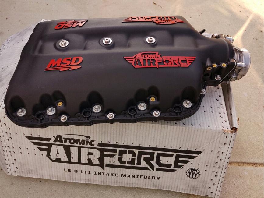 Photo C7 Corvette MSD 2700 Atomic Airforce Intake