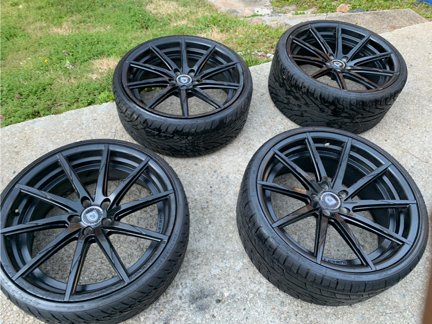 Photo 22 in Black Gloss Rims with Tires