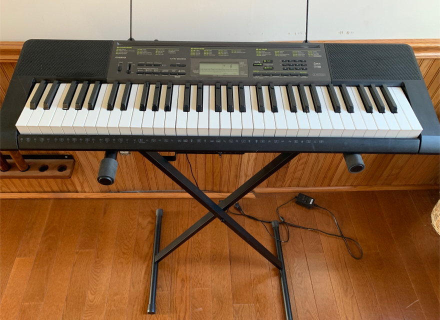 Photo Casio CTK-2080 Keyboard