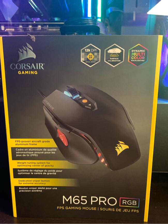 Photo Corsair M65 PRO rgb gaming mouse