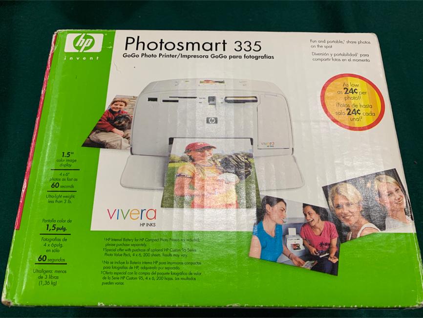 Photo HP Photosmart 335 (GoGo Photo Printer)