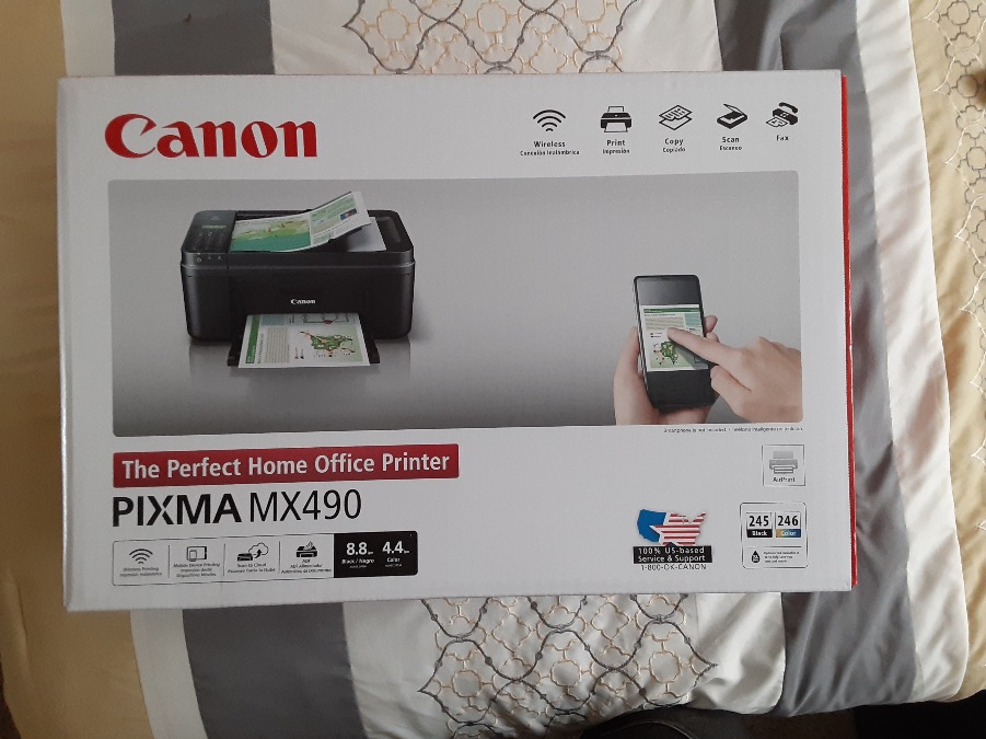 Photo CANON PIXMA MX490 Wireless Office All-in-One Inkjet Printer/Copier/Scanner/Fax