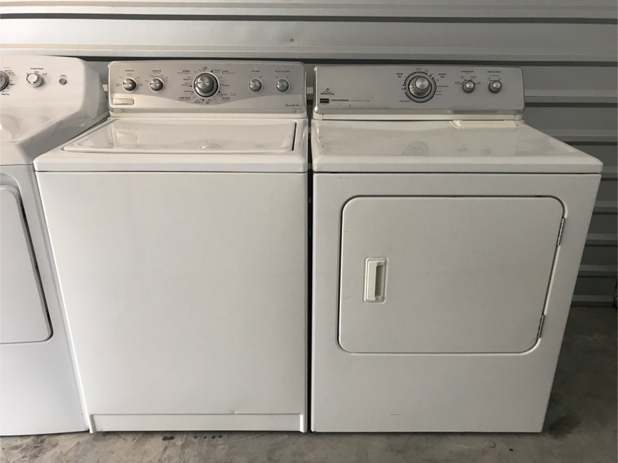Photo Maytag Washer and Electric Dryer