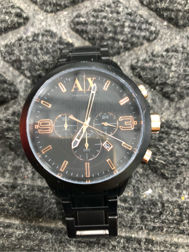 Photo Armani Exchange Watch (Black), AX1350