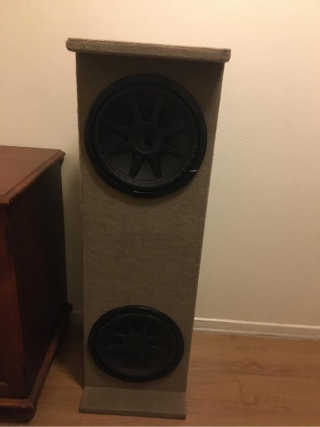 Photo Car speaker ~kicker comp VR~ 12 inches