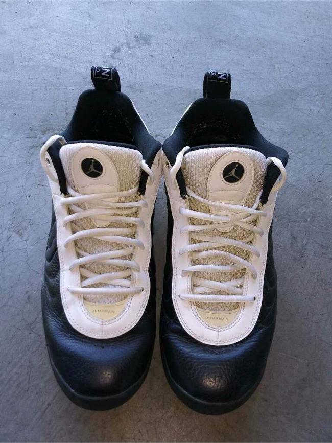 Photo Nike Pro Lo Air Jordan's (Black and White).