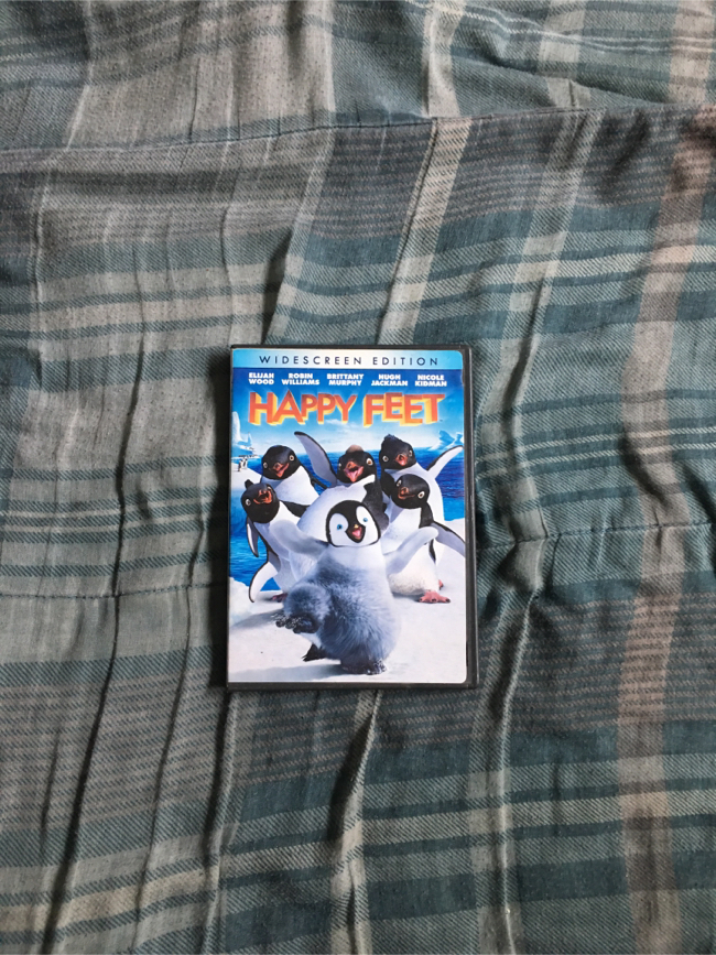 Photo Happy Feet Widescreen Edition DVD (Warner Bros 2006, 2007)