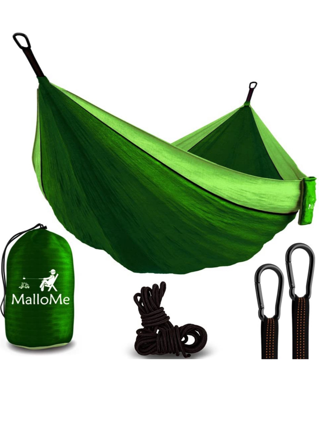 Photo Bolun camping hammock portabl Dark green and green