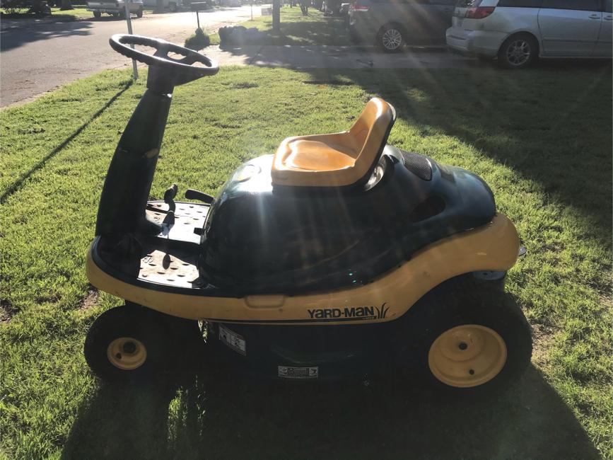 "Photo 30"" Yard Man Yard Bug 8.5hp Riding Lawn Mower"