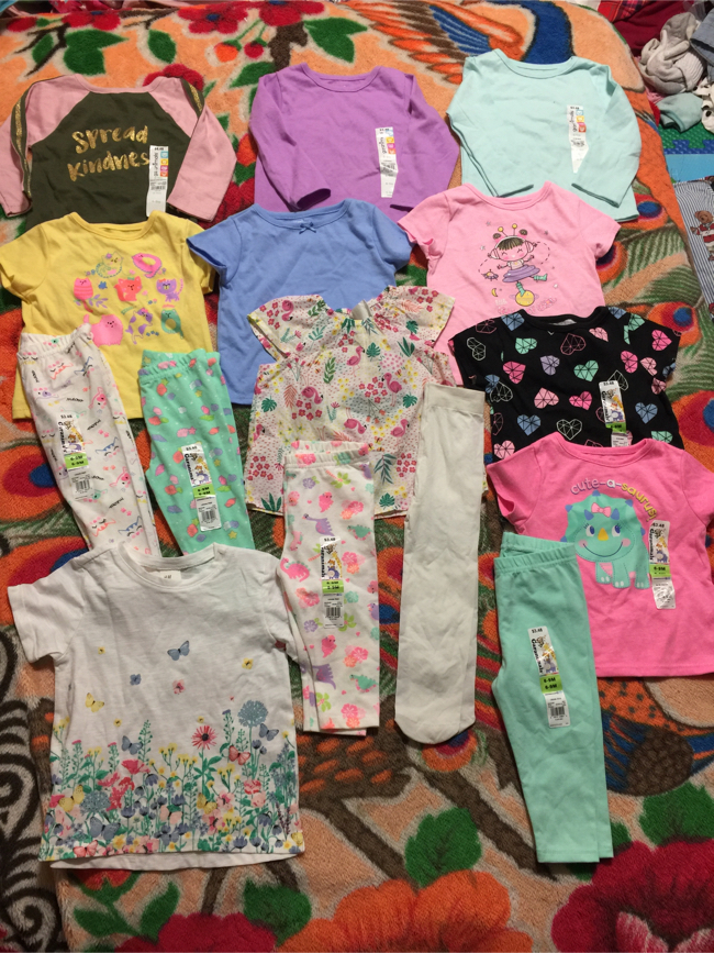 Photo Baby girl clothes 6-9M ( 15 items for $30 ) brand new