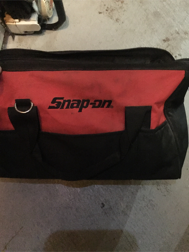 Photo Snap On tool tote bag