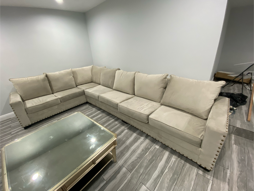 Photo Sectional Couch Custom American Made