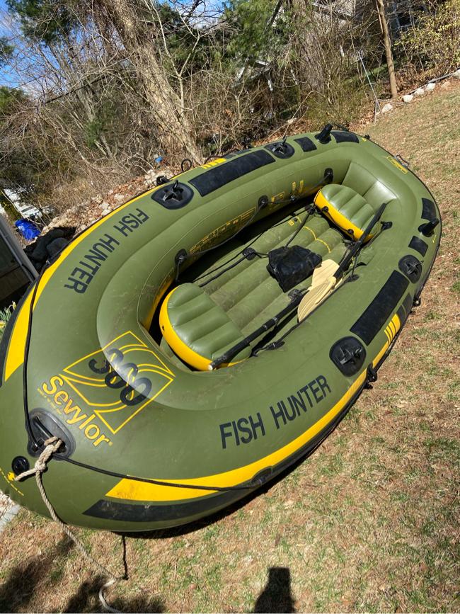 Photo Fish Hunter Inflatable Boat