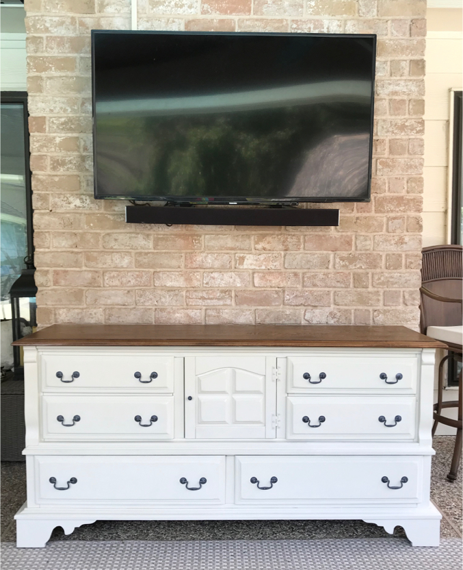 Photo Dresser TV Stand Changing Table Buffet Console Entryway