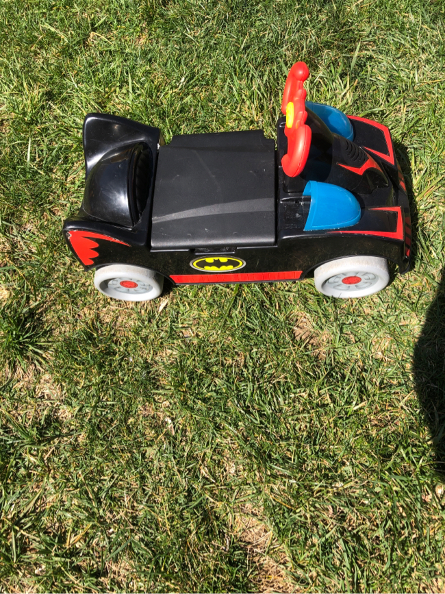 Photo Working Batman Ride on Car