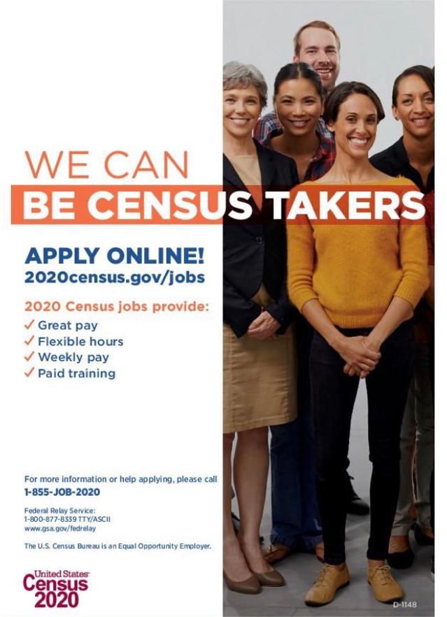 Photo US Census Bureau - Inglewood Area Census Office - Customer Service, Part-time