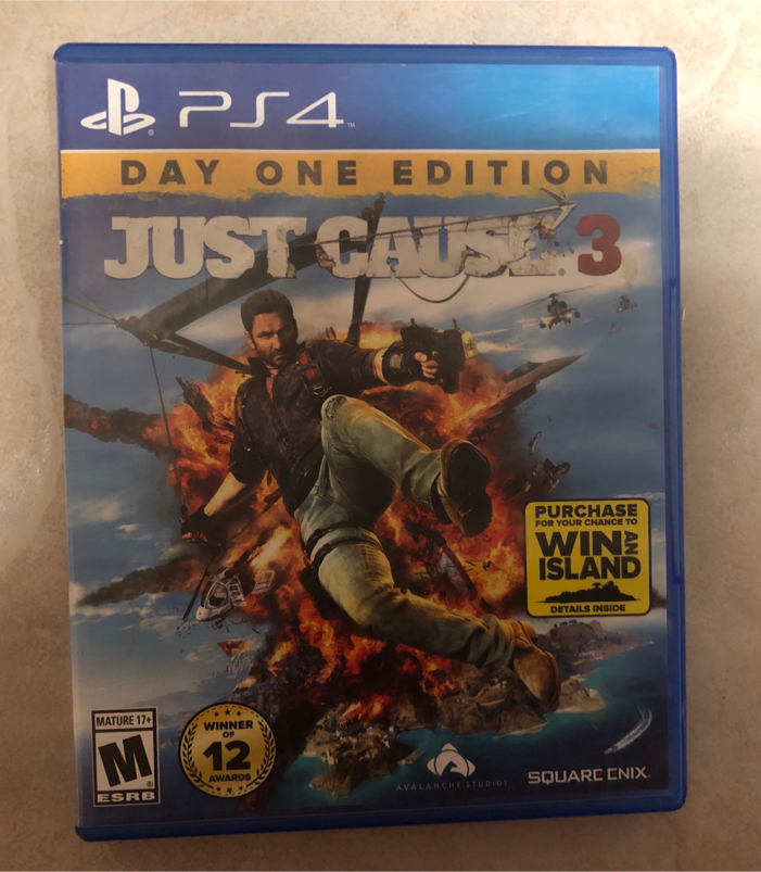 Photo PS4 Just Cause 3 Day One Edition for PlayStation 4 Video Game
