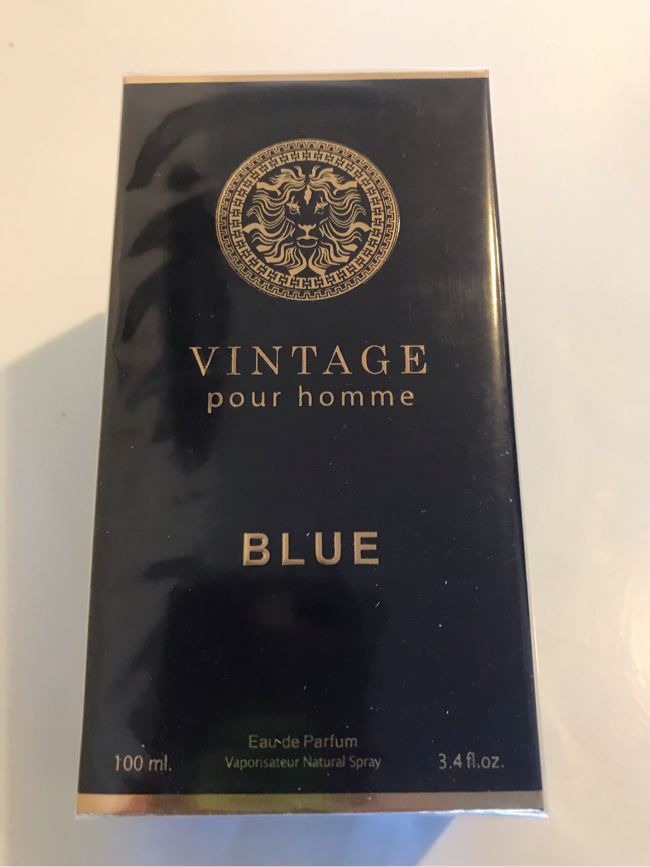 Photo VINTAGE for MEN Our Version of VERSACE BLUE