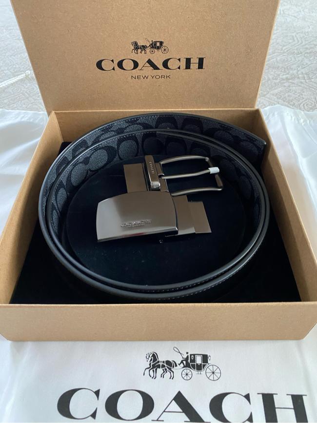 Photo Coach men's reversible belt