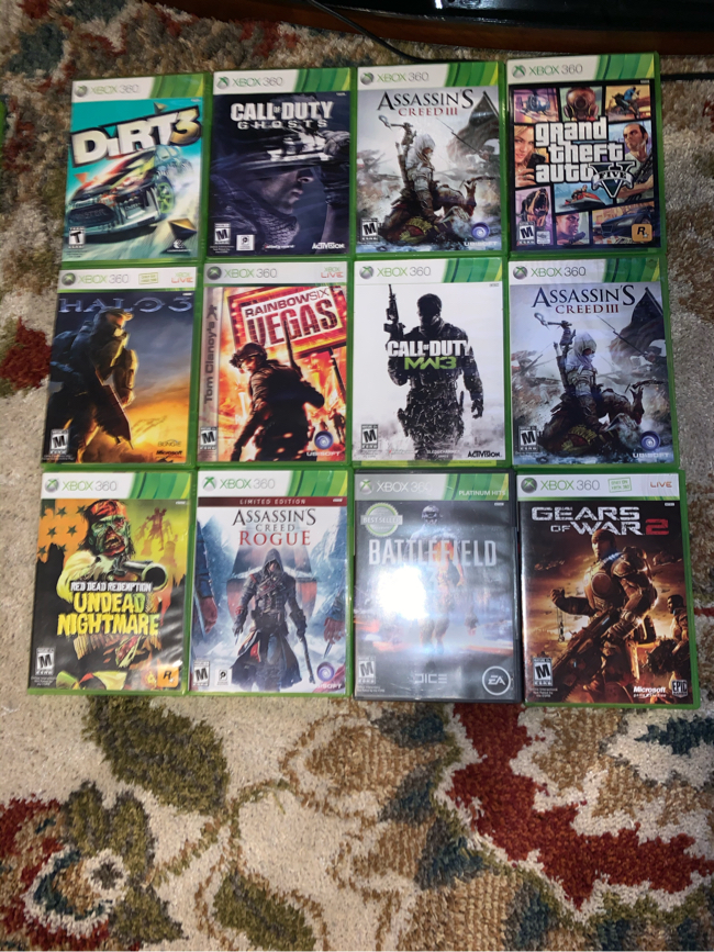 Photo Xbox games: compatible ( X 360/ X one )