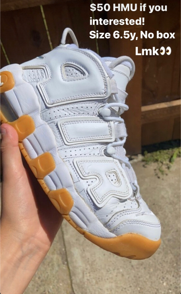 Photo Nike Air uptempo: Size 6.5y