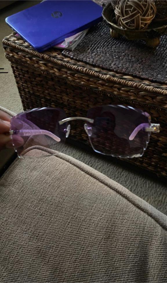 Photo Cartier Aztec glasses