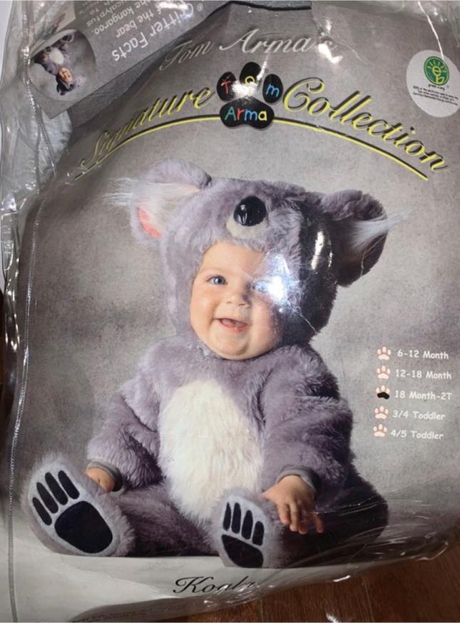 Photo Baby Koala Costume