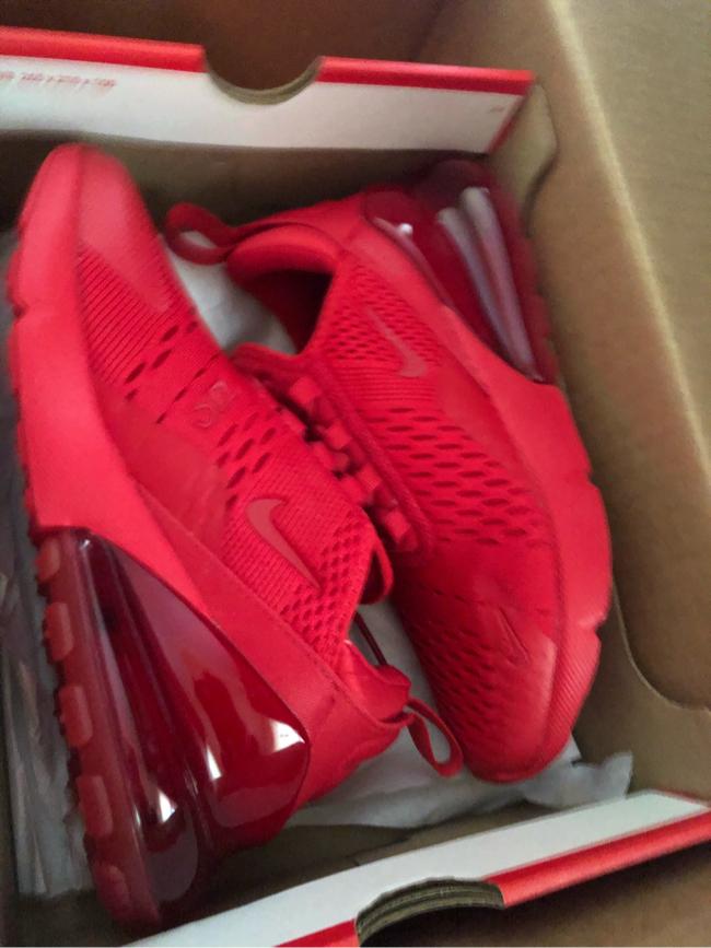 Photo Red Nike Big Kids sneakers