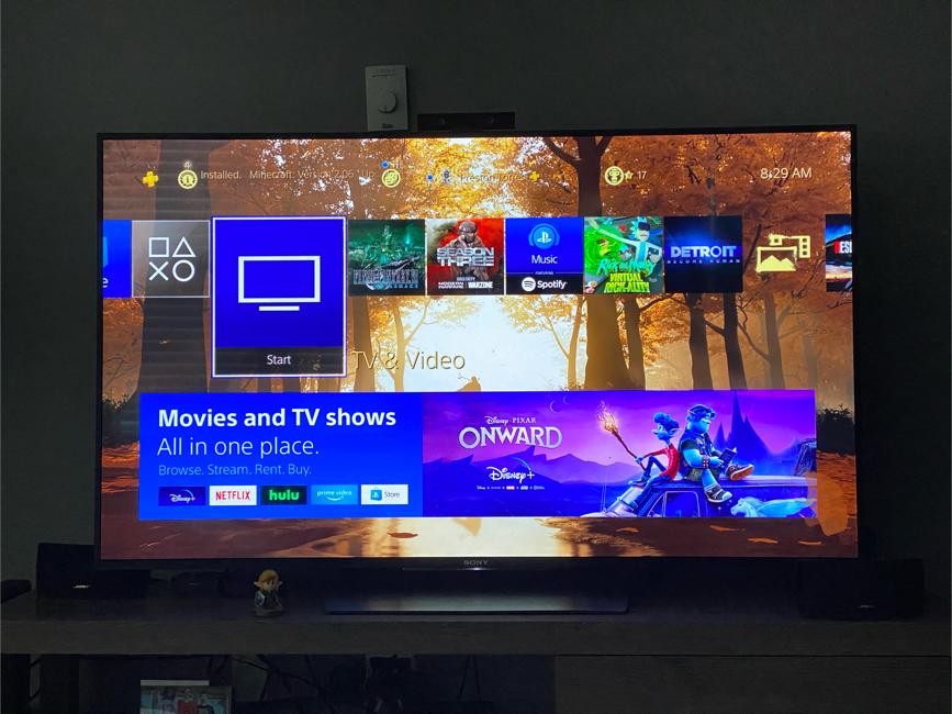 "Photo Sony XBR 55"" 4K UHD HDR TV"