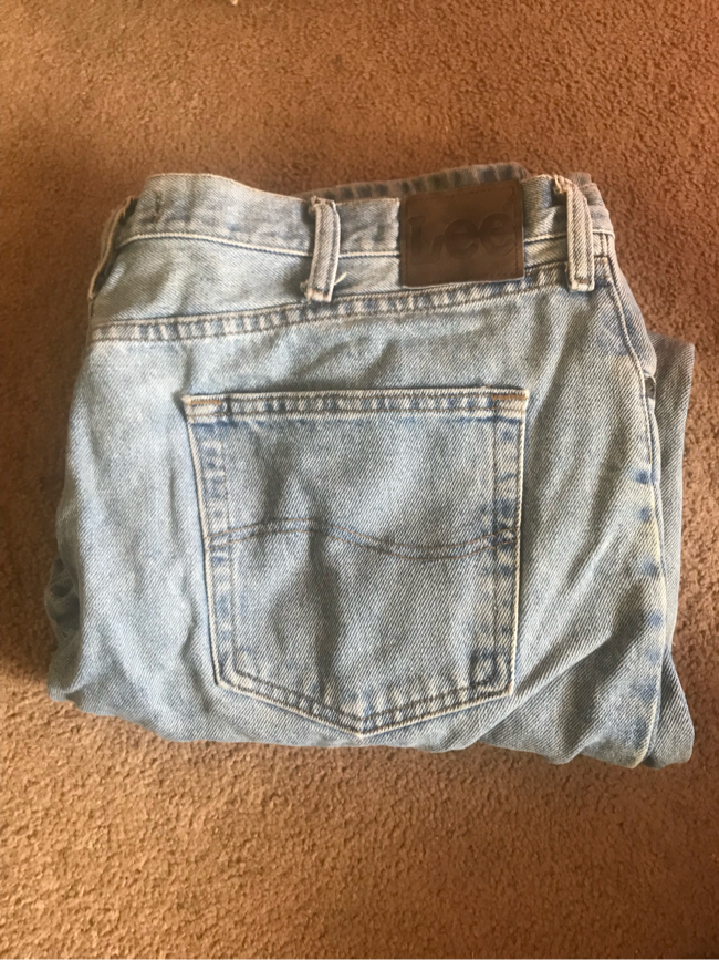 Photo Lee Men's light blue jeans relaxed fit 40x30